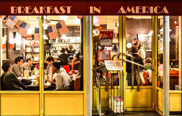 Amerikansk Morgenmad Med Det Hele Mit Paris